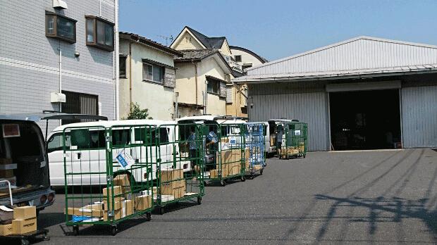 輸送・配送・通販ECの代行発送